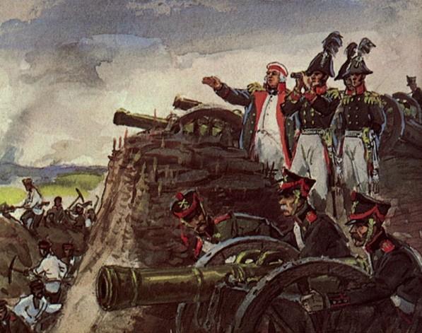 Бородинская битва 1812 года