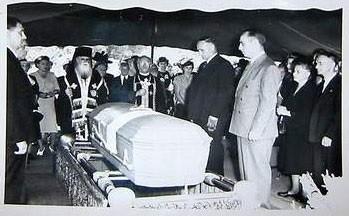 Похороны А.И.Деникина, 1947 год.