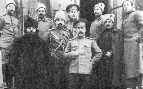 Командир 4-й стрелковой бригады генерал-майор Деникин