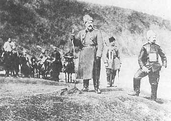 А.И.Деникин принял командование над 8-м армейским корпусом. 1916 г.