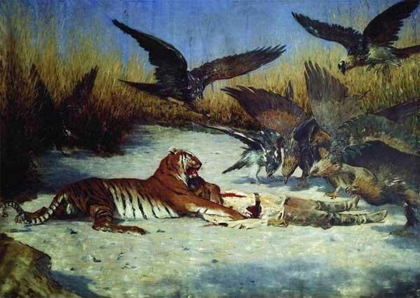 Василий Васильевич Верещагин. Тигр людоед