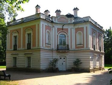 Дворец Петра III в Ораниенбаумском (Ломоносовском) парке