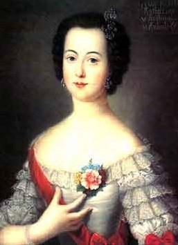 Великая княгиня Екатерина Алексеевна - будущая императрица Екатерина II