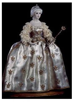 Екатерина II-коронационное платье