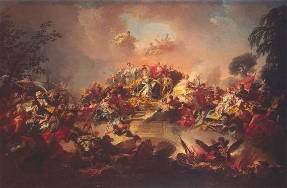 Апофеоз царствования Екатерины II.