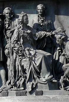 Екатерина II на Памятнике
