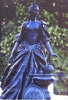 Памятник Екатерине II.Цербст, Германия