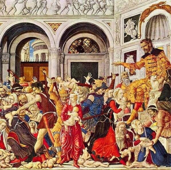 «Избиение младенцев» (Маттео ди Джованни, 1488 год)