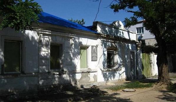 Дом в котором родился Макаров Степан Осипович