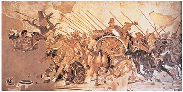Битва при Иссе:Александр Македонский