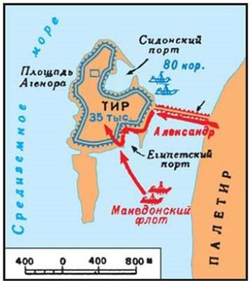 Осада Тира:Александр Македонский