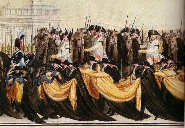 Вторичные похороны Петра III, 2 декабря 1796 г.