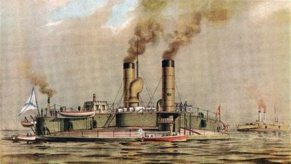 Поповка - бронированный артиллерийский корабль