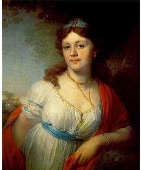 Портрет дочери императрицы Екатерины II и светлейшего князя Григория Потёмкина-таврического