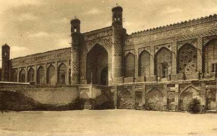 Коканд. Вход во дворец Худояр хана