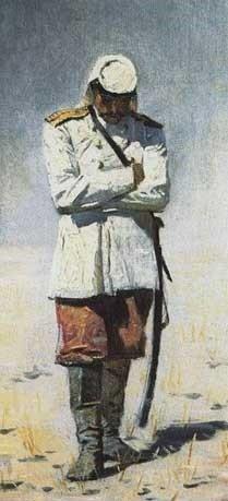 Туркестанский офицер.