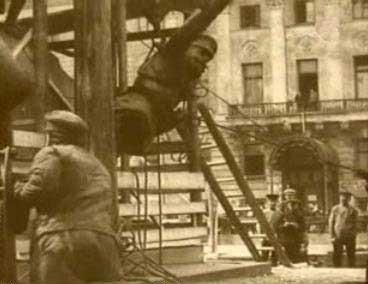 Уничтожение памятника Скобелеву властью большевиков