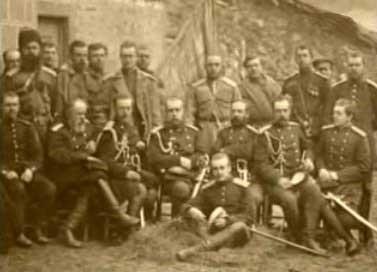 Штаб генерала Скобелева
