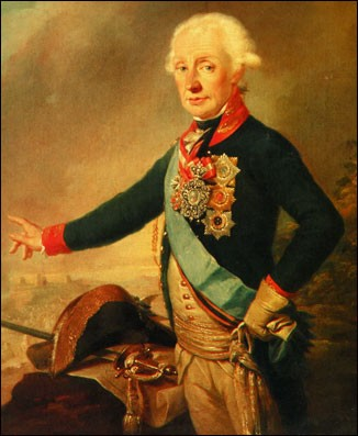 Суворов портрет