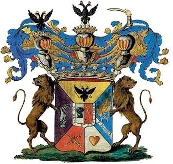 Герб рода графа Суворова.