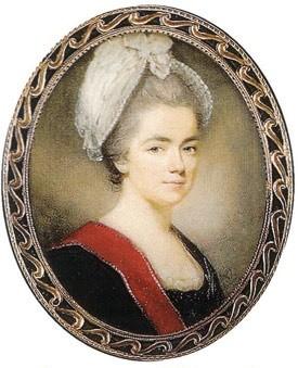 Портрет княгини Дашковой Екатерины Романовны