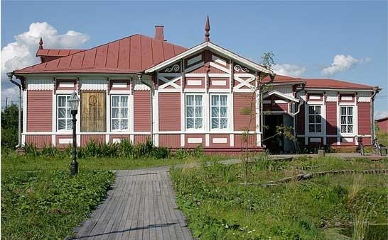 Музей М.В. ломоносова на его родине в деревне Мишанинской