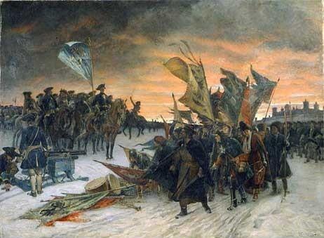Поражение русской армии под Нарвой