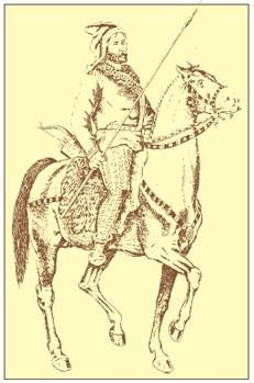 Скифский конный воин